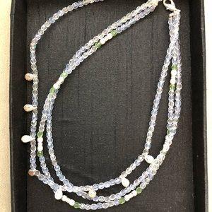 Jewelry - 3 strand choker necklace